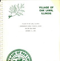 Image of Village of Oak Lawn Annual Report, 1986