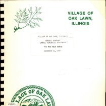 Image of Village of Oak Lawn Annual Report, 1987