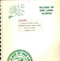 Image of Village of Oak Lawn Annual Report, 1989