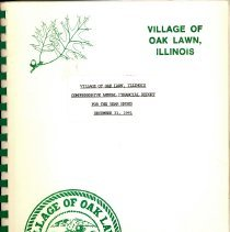 Image of Village of Oak Lawn Annual Report, 1991
