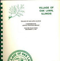 Image of Village of Oak Lawn Annual Report, 1993