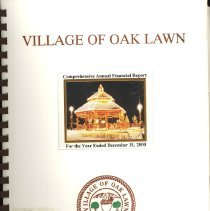 Image of Village of Oak Lawn Annual Report, 2000