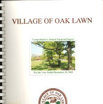 Image of Village of Oak Lawn Annual Report, 2002