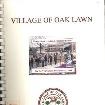 Image of Village of Oak Lawn Annual Report, 2004