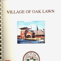 Image of Village of Oak Lawn Annual Report, 2005