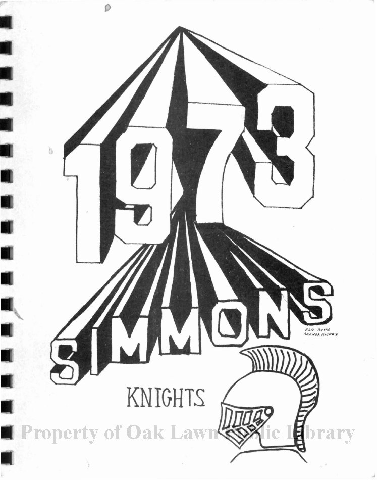 simmons school yearbook 1973 this item is the 1972 1973