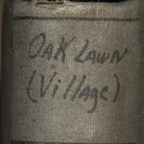 Image of Collection of Oak Lawn Minutes, 1957-1958