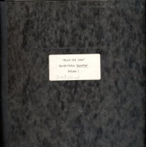 "Image of About Oak Lawn Scrapbook, Volume 1 - This item is Volume 1 (1965-1967) of a collection of bound columns titled ""About Oak Lawn"".  They appeared in the Worth-Palos Reporter, now called The Reporter.  This particular set of columns was written by Catherine Barz and covered various events occurring throughout the village."