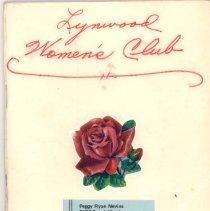 Image of 1967 Lynwood Women's Club Directory