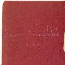 Image of 1949 Lynwood Women's Club Directory