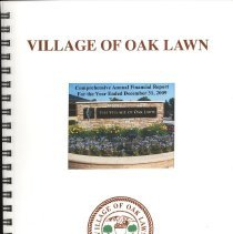 Image of Village of Oak Lawn Annual Report, 2009