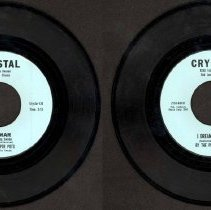 Image of I Dream of You/Ingemar - This item is a 45 RPM record featuring I Dream of You by The Pepper Pots.  It was produced by Crystal Records of Oak Lawn located at 9250 Tulley Avenue.