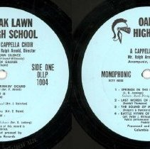 Image of Oak Lawn Community High School A Cappella Choir Record