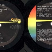 Image of Chicagoland Stage Band Festival, 1969