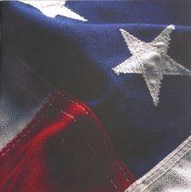 Image of St. Gerald Yearbook, 2002 - This item is the 2001 - 2002 St. Gerald yearbook. The front has an image of the American flag.