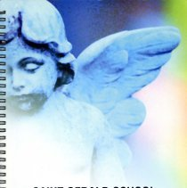 Image of St. Gerald Yearbook, 2003 - This item is the 2002 - 2003 St. Gerald yearbook. The front has the image of an angel.