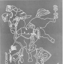 Image of Simmons School Yearbook, 1989 - This item is the 1988 - 1989 yearbook from Simmons School.  The cover has an image of a knight riding a horse.