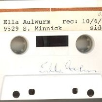 Image of Aulwurm, Ella - Oral History Interview - This item is an oral history interview with Ella Aulwurm. It is approximately fifty-five minutes long and covers her life and experiences in Oak Lawn.