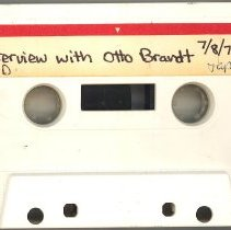 Image of Brandt, Otto - Oral History Interview
