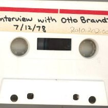 Image of Brandt, Otto - Oral History Interview - This item is an oral history interview with Otto Brandt. It covers his life and experiences in Oak Lawn and the interview is approximately one hour and twenty-seven minutes long.