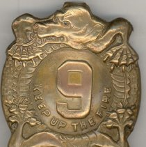 Image of 9th Infantry Brass Belt Buckle
