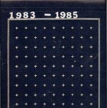 Image of Lake Shore Athletic Association Scrapbook, 1983 - 1985