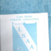 Image of Lake Shore Athletic Association Yearbook, 1970 - 1995