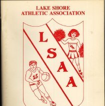 Image of Lake Shore Athletic Association Annual Banquet Program, 1987