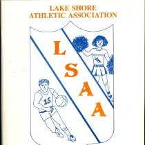 Image of Lake Shore Athletic Association Annual Banquet Program, 1989