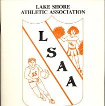 Image of Lake Shore Athletic Association Annual Banquet Program, 1990