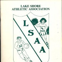 Image of Lake Shore Athletic Association Annual Banquet Program, 1992