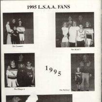 Image of 1995 Lake Shore Athletic Association Annual Banquet Program