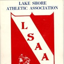 Image of Lake Shore Athletic Association Boxing Exhibition Program, 1972