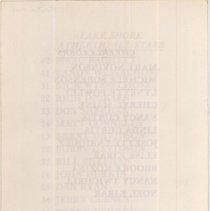 Image of Lake Shore Athletic Association Basketball Tournament Program, 1985
