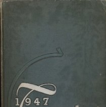 Image of Calumet High School Yearbook, Temulac, 1947 - This item is a 1947 Temulac yearbook from Calumet High School in Chicago Illinois. The cover is green with silver lettering.  Prior to the opening of the Oak Lawn High Schools, some local residents attended Calumet High.