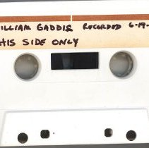 Image of Gaddis, William B. - Oral History Interview