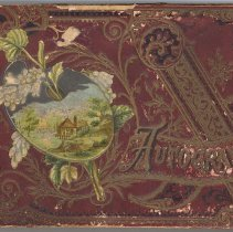 Image of Late 19th Century Autograph Book