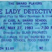 "Image of ""The Lady Detectives"" Play Ticket"