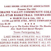 Image of Lake Shore Athletic Association Basketball Tournament Ticket