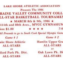 Image of Lake Shore Athletic Association Basketball Tournament Ticket
