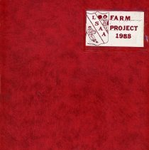 Image of Lake Shore Athletic Association Farm Project Scrapbook