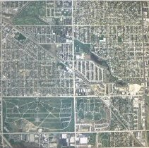Image of Satellite Map of Oak Lawn