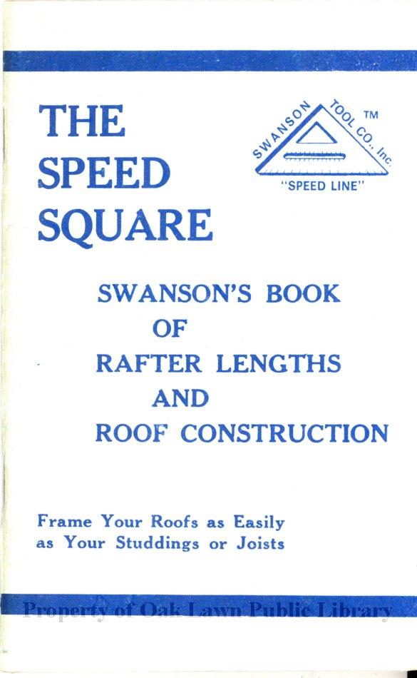 swanson speed square manual pdf