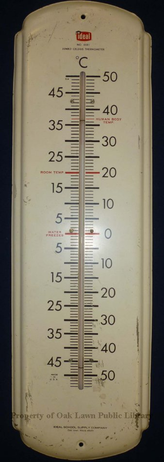 ideal school supply company thermometer