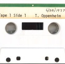 Image of Oppenheim, Theodore - Oral History Interview