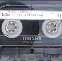 Image of Sutko, Mike - Interview