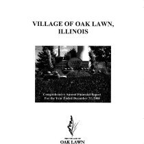 Image of Village of Oak Lawn Annual Report, 2008