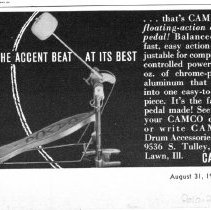 Image of Camco Drum Company Advertisement