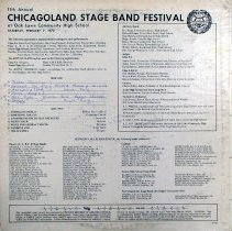 Image of 11th Annual Chicagoland Jazz Band Festival Record, 1970