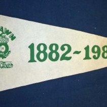 Image of 1982 Oak Lawn Centennial Pennant